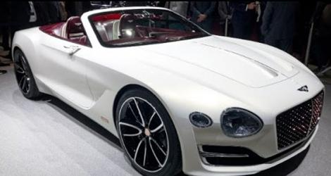 Bentley makes its first electric car