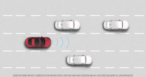 Jaguar XE - Autonomous Emergency Braking