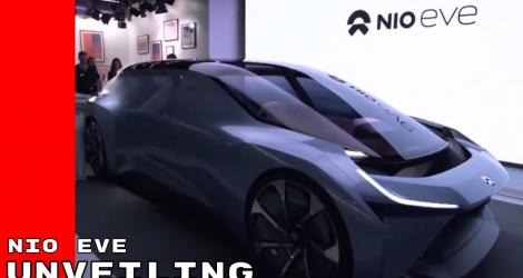 NIO EVE Autonomous Electric Concept Car