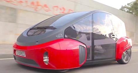 Rinspeed Oasis Autonomous Connected Car