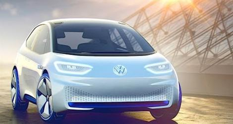 Volkswagen ID Self Driving Electric Car