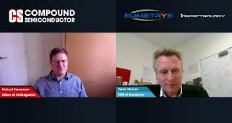 Compound Semiconductor Magazine talks to Eumetrys