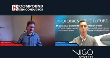 Compound Semiconductor Magazine talks to Vigo Systems