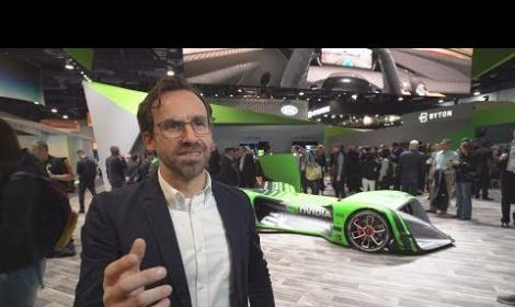NVIDIA and Roborace at CES 2018