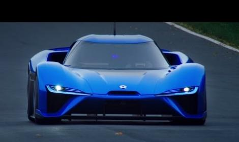 NextEV Electric Hypercar laps Nürburgring in 7:05